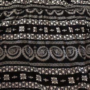 Aeropostale Dresses - Aeropostale Printed Black & White Halter Dress